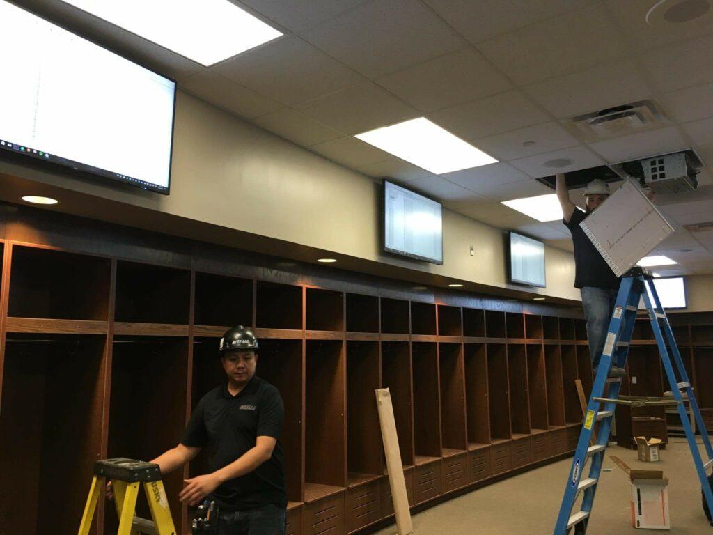 Construction Of Athletic Locker Room Facility