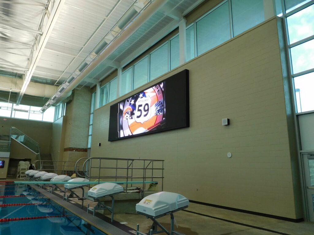Aquatic Center Video Wall